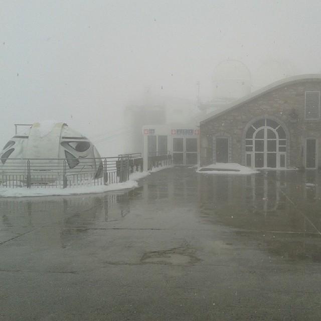 Neige au Pic du Midi